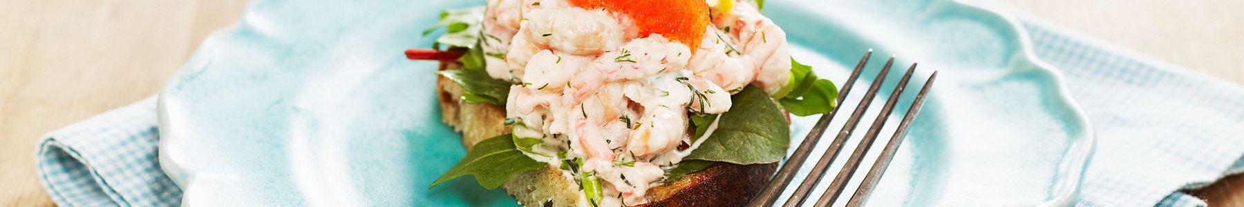 Snabba recept med skaldjur