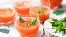 Melonslush med citrus