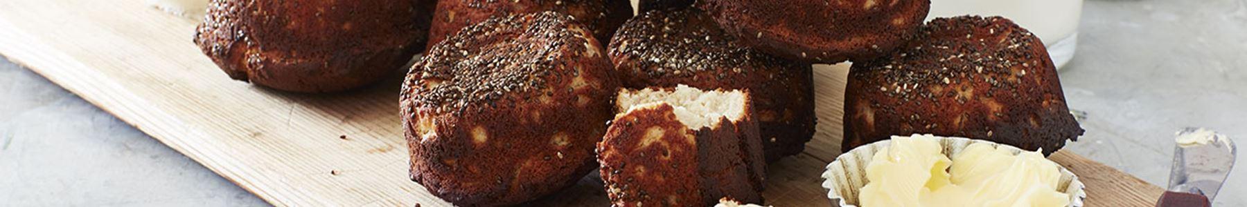 bröd med chiafrön