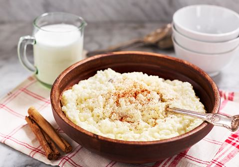 Krämig risgrynsgröt