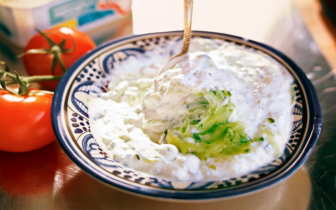 Tzatziki – grundrecept