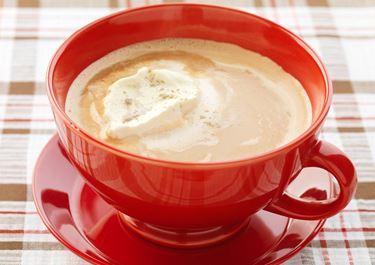 Lyxig varm choklad