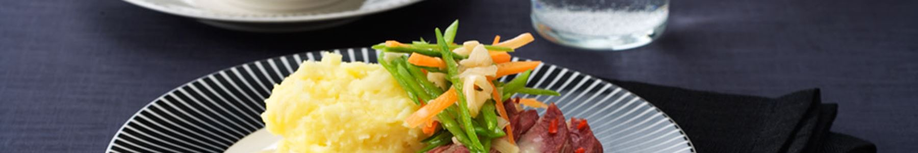 Bönor + Potatis + Mos
