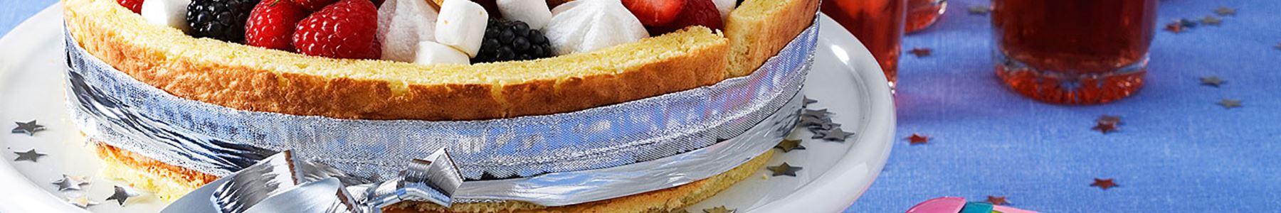 marshmallows tårta recept