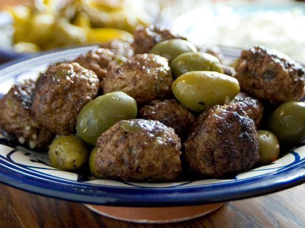 Lammbullar med oliver