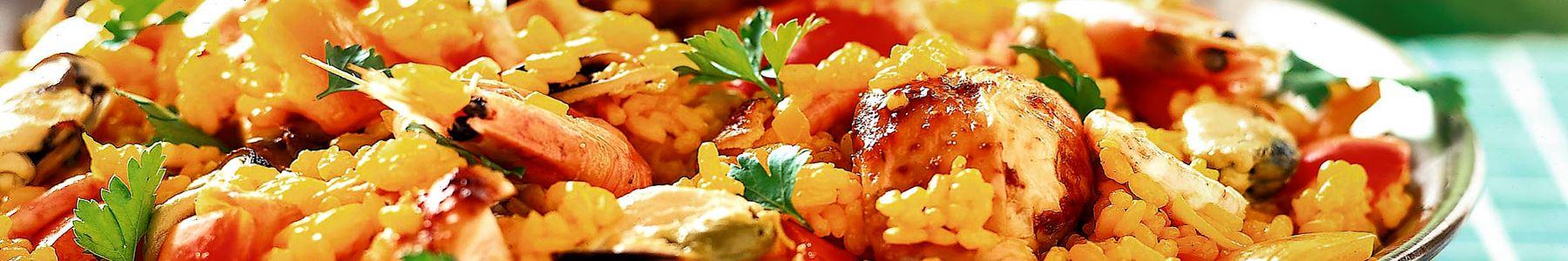 Musslor + Tomat + Paella