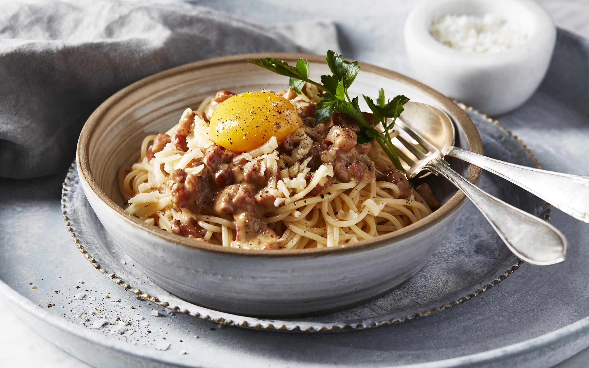 vad kan man äta till pasta