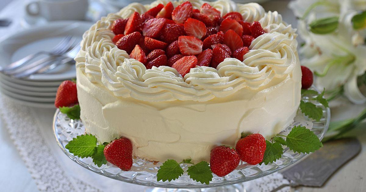 grädde till tårta
