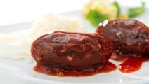 Köttfärsbiffar med chili