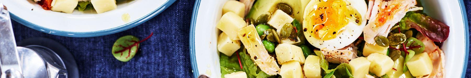Bönor + Avokado + Grillad