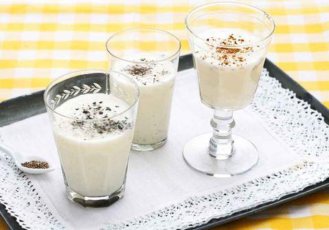 Mjölkdrink med vanilj