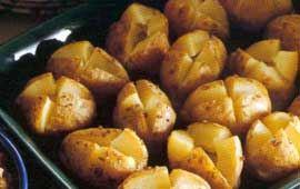 Bakad potatis med kaviarröra