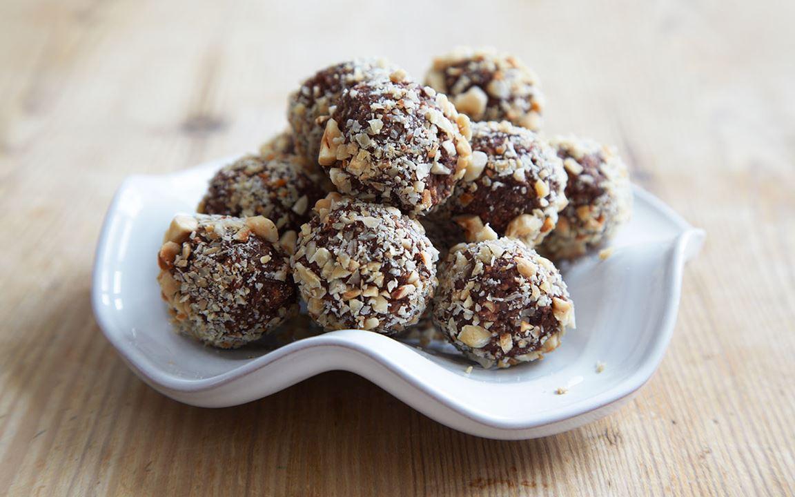 Chokladbollar recept arla
