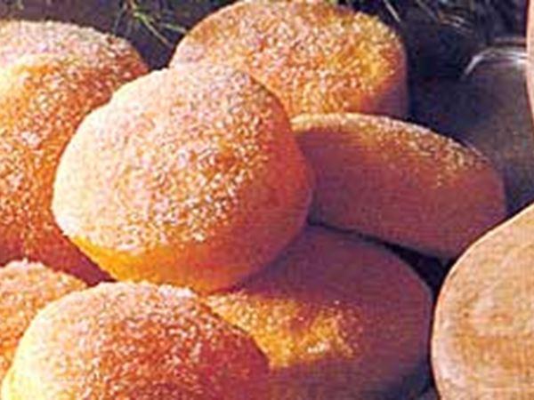 Sockerbullar med saffran