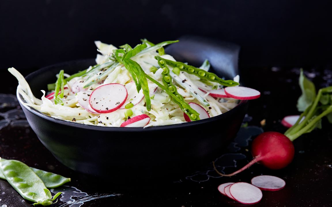 Coleslaw på primörer