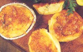 Skink- och äppelpaj
