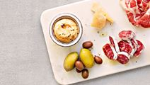 Röra med rostad sötpotatis, vitlök och timjan