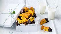 Saffransskorpor med pistage - Recept | Arla