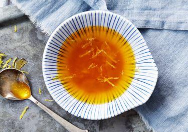 Citronette på brynt smör