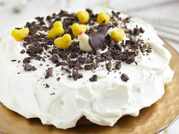 Påskig chokladtårta