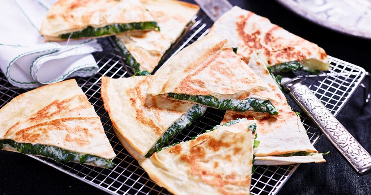 vegetariska quesadillas recept