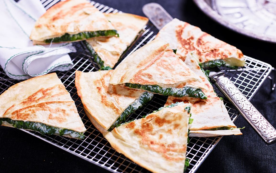 Quesadillas – grundrecept