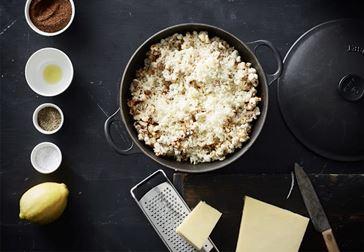 Popcorn med Castello Cheddar