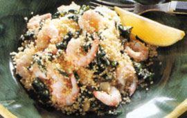 Couscous med räkor