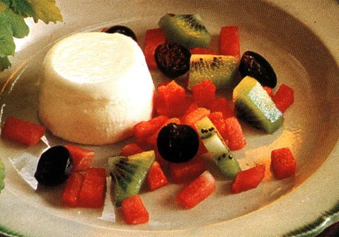 Pannacotta på yoghurt