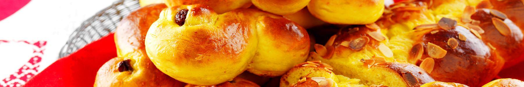 Ägg + Saffran + Bakning