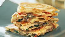 Tortilla med kyckling & tomat