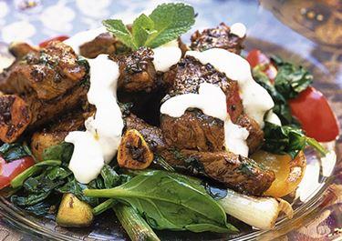 Bombay biff med raita