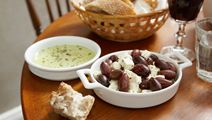 Ost- och olivsnacks