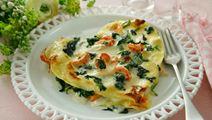 Romantisk lasagne med kräftstjärtar
