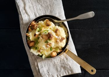 Potatisstomp med rostad majs