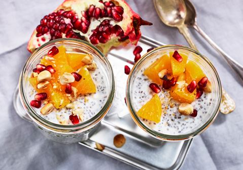 Chiayoghurt med cottage cheese