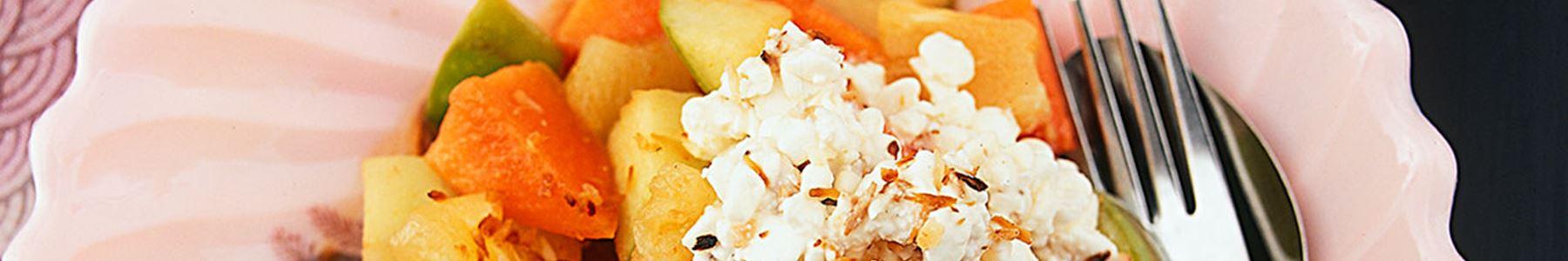 Kalorisnål + Smör och rapsolja + Dessert