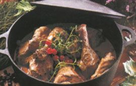 Viltgryta på kyckling