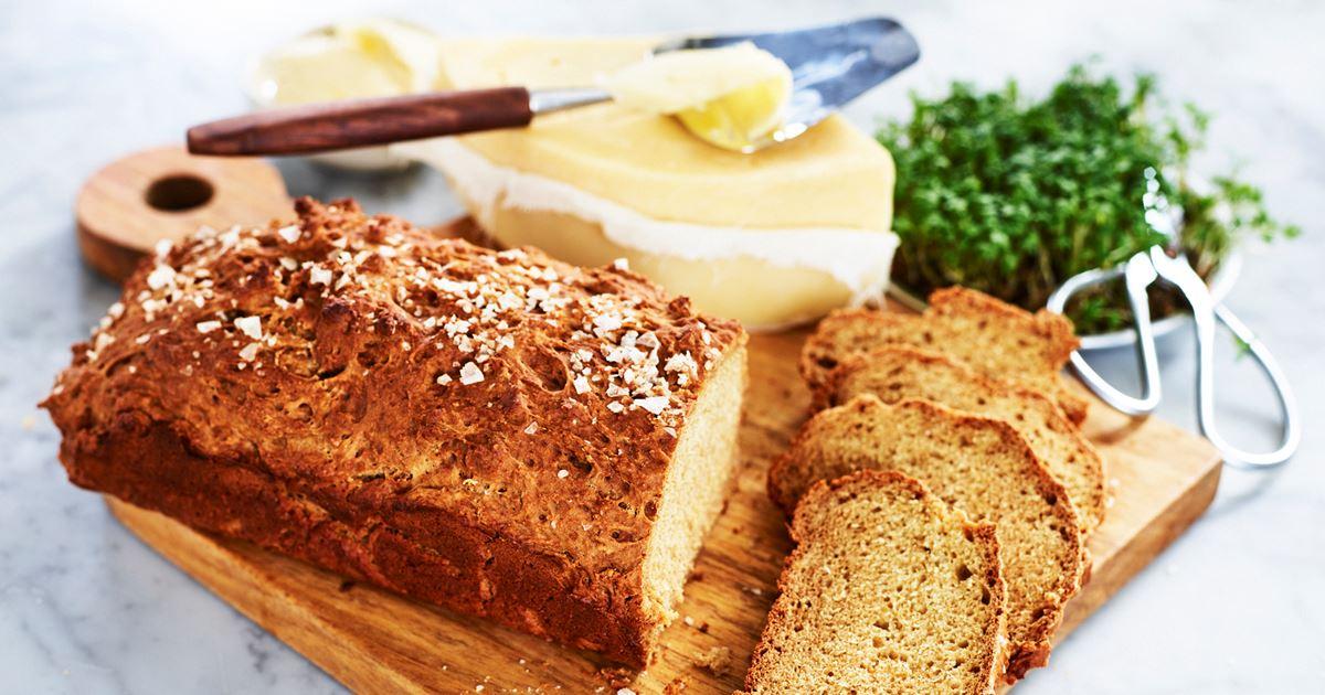 enkelt bröd recept utan jäst