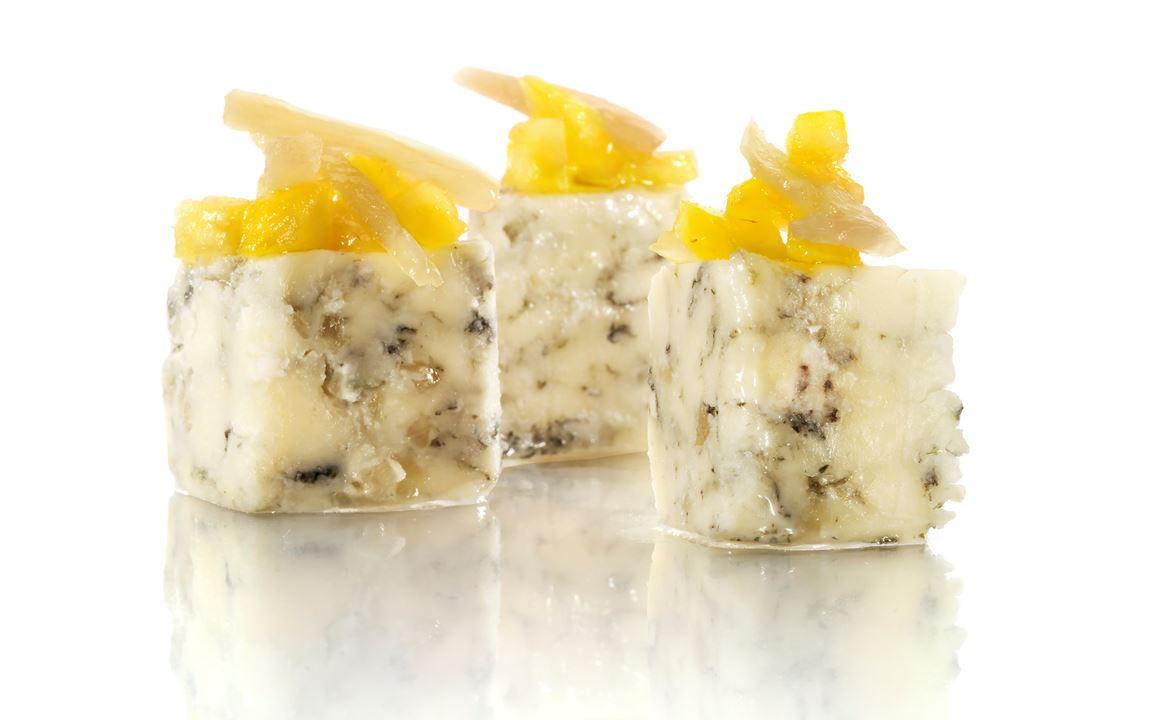 Ingefärsmango till ost