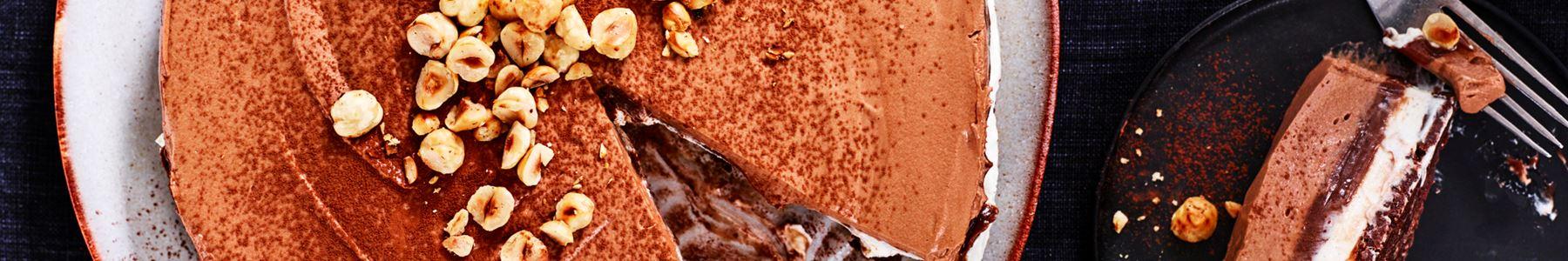 Hasselnötter + Cheesecake + Utan ägg