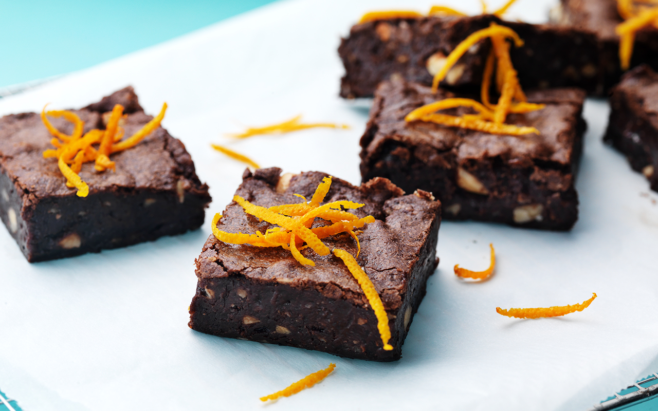brownie recept arla