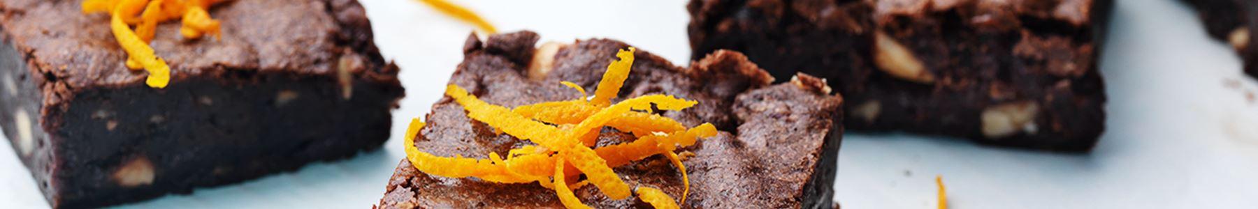 Apelsin + Vetemjöl + Bröd