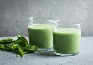 Grön yoghurtsmoothie