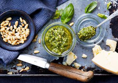 Pesto – grundrecept