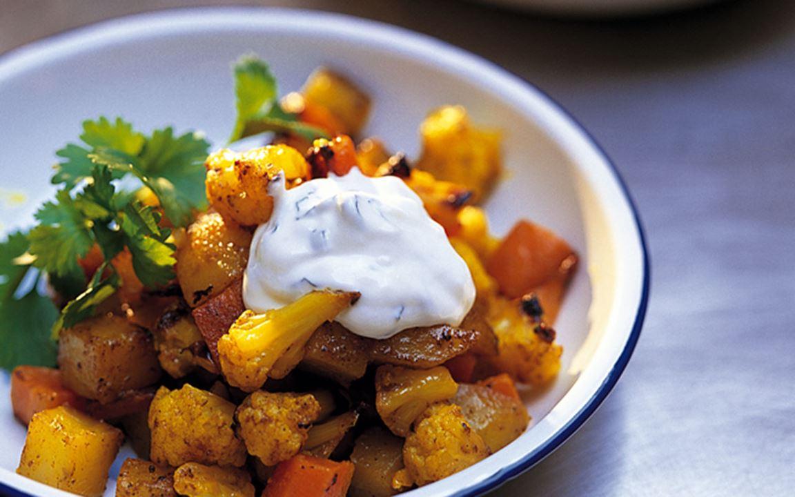 Indisk grönsakspytt