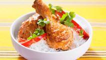 Thaikryddade kycklingklubbor