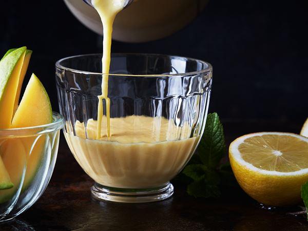 Smoothie med mango och banan