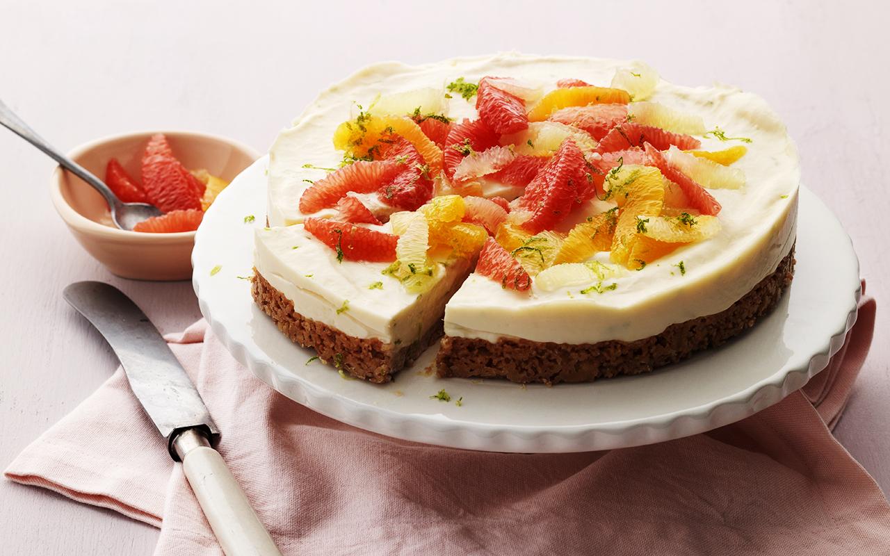 cheesecake med kvarg