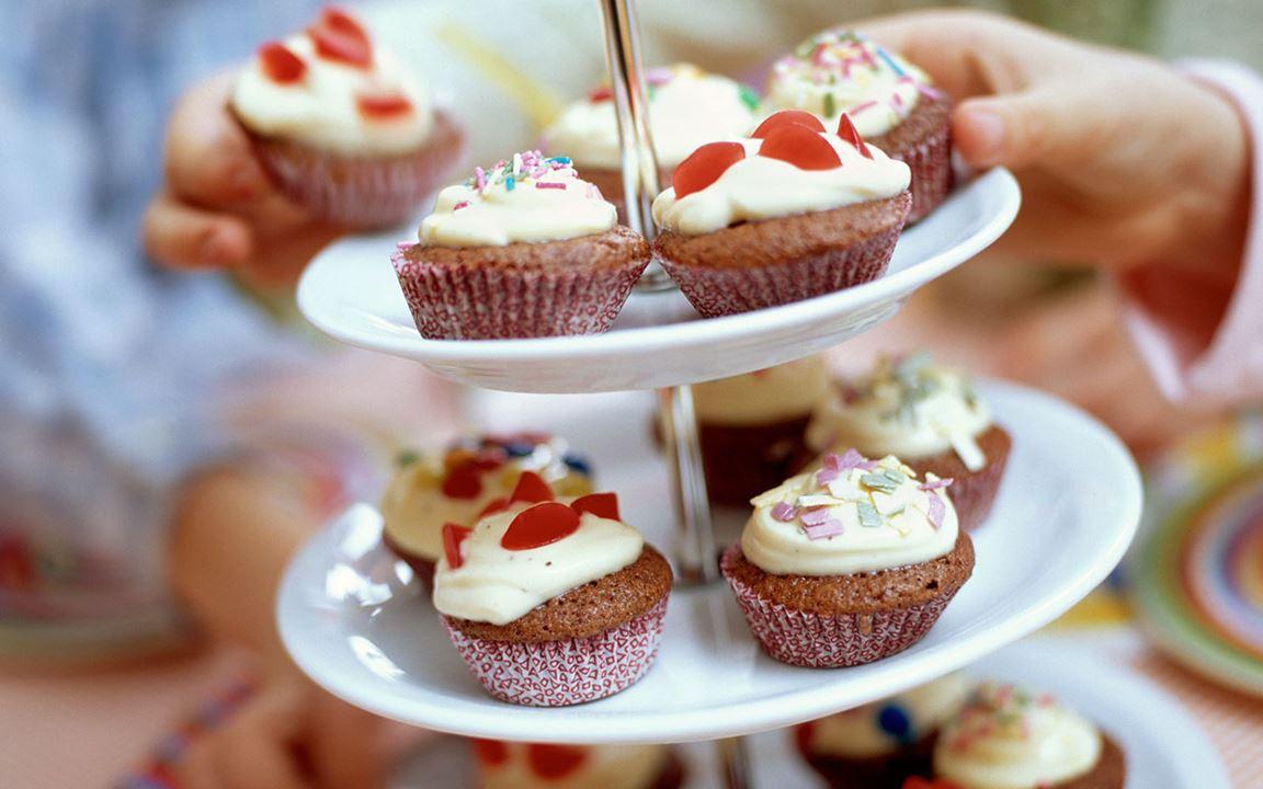 Minichokladmuffins